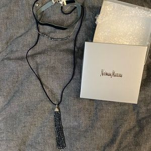 Neiman Marcus 3 layer necklace